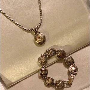 | Authentic Brighton Reversible Heiress Bracelet |